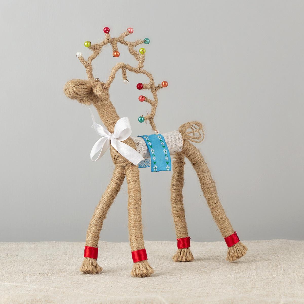 Deer Motanka Doll