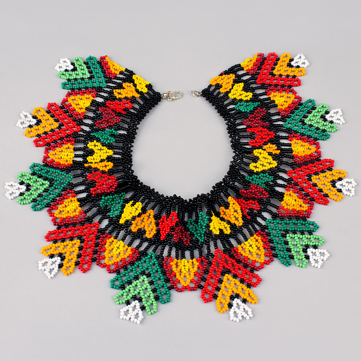 "Silyanka from beads ""Flowers of woodland"""