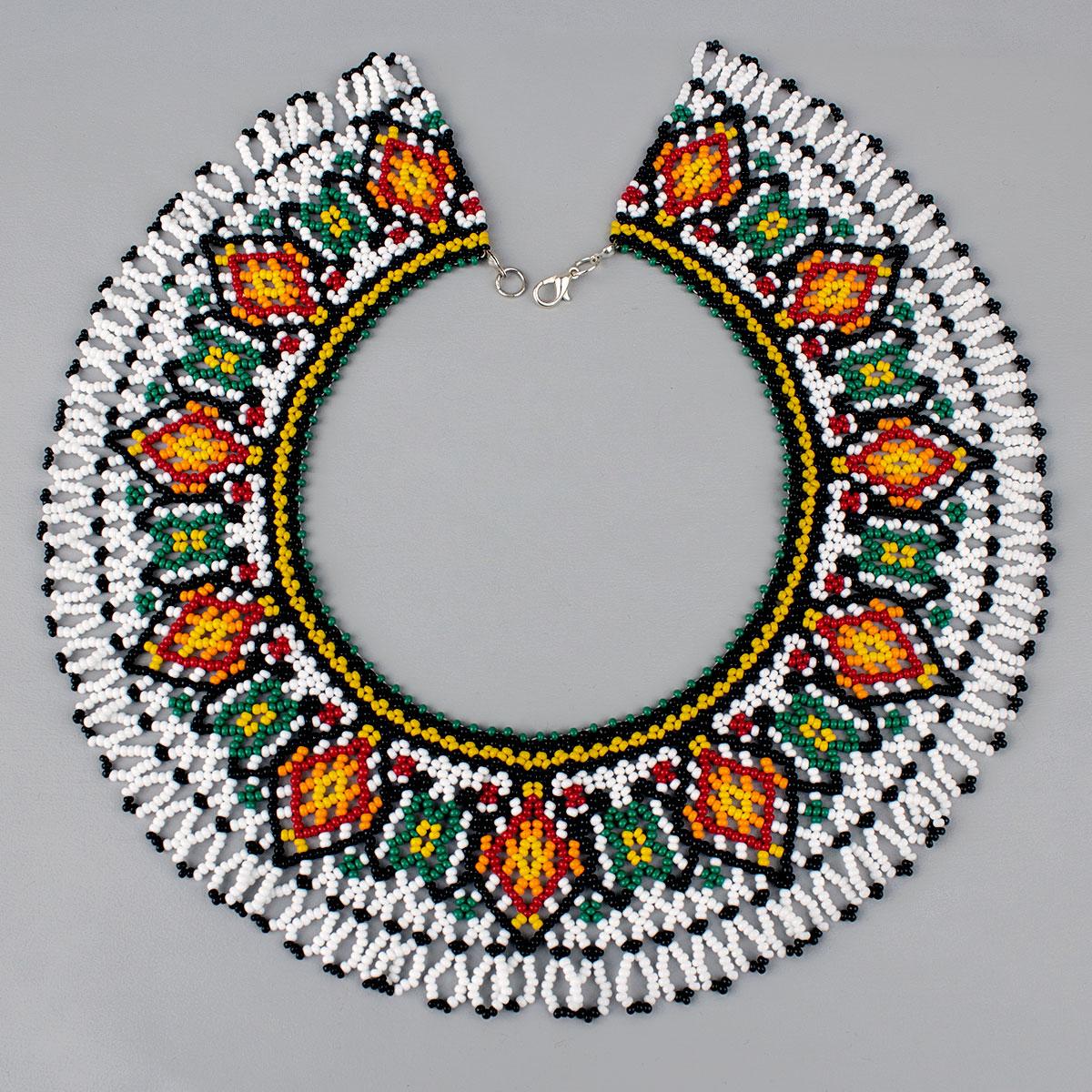 """Sillyanka from beads """"Festive bouquet"""""""