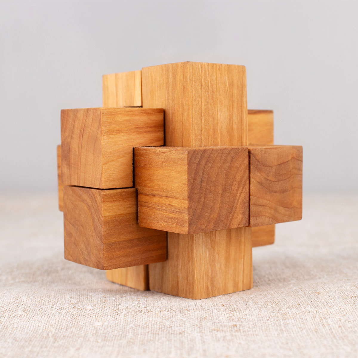 Wooden Cross Puzzle